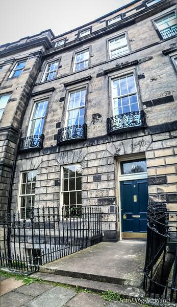 6 Ainslie PLace, Edinburgh (Former Residence of Francis Cadell, Scottish Colourist)