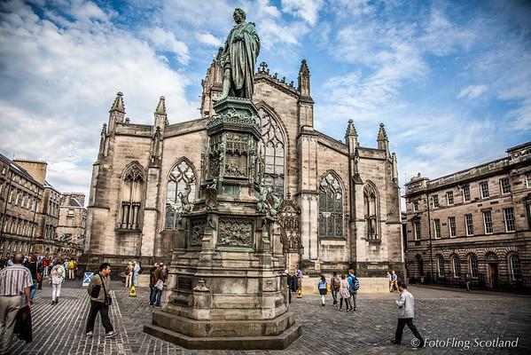 St Giles Cathedral, Royal Mile Edinburgh