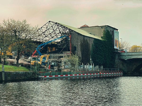 The Demolition of the former State Cinema, Leith