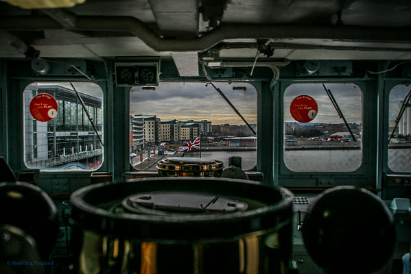 The Bridge - Royal Yacht Britannia