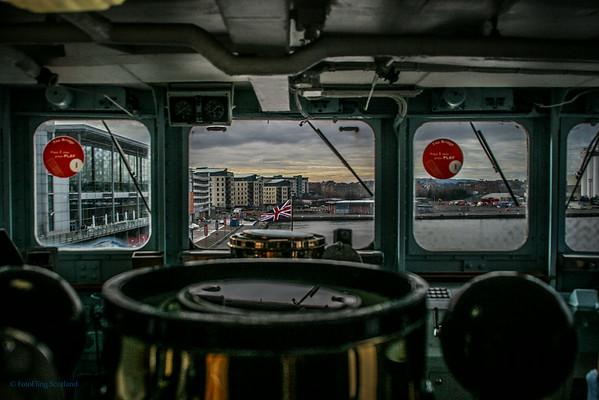 The Bridge - Royal Yacht Britannia