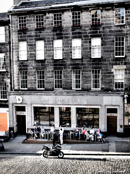 Cafe Fish, Stockbridge, Edinburgh