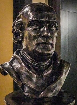 Bust of James Watt - National Mining Museum, Newtongrange