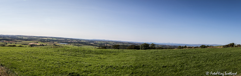 View west from Cairnpapple Hill, West Lothian