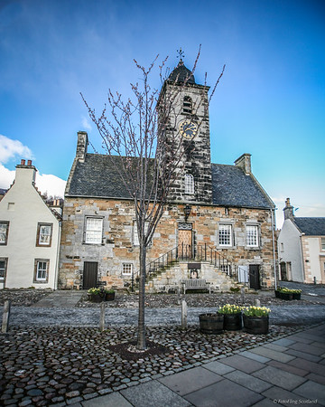 Culross Town House, (formerly used as a courthouse and prison)