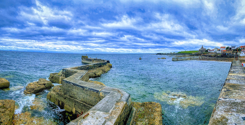 St Monans Harbour  Fife