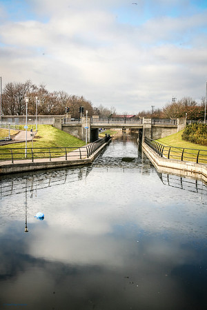 Forth - Clyde Canal at Clydebank