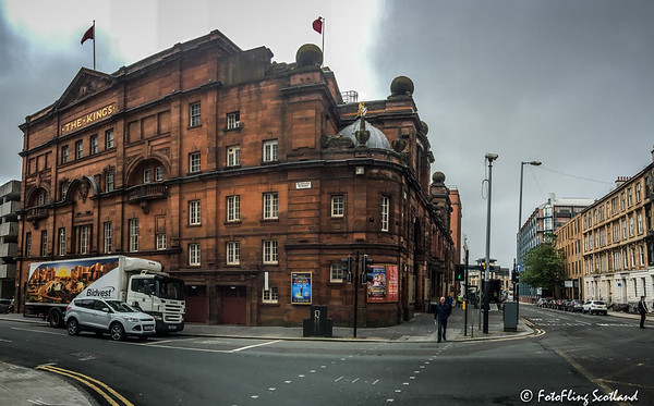 King's Theatre Glasgow (Side Elevation)