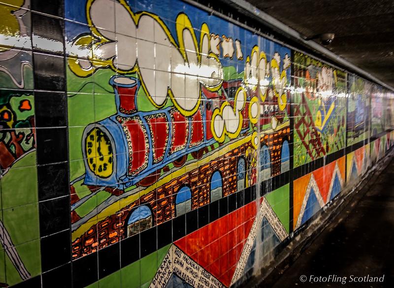 Hyndland Station Underpass, Glasgow