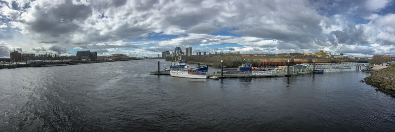 River Clyde Panorama