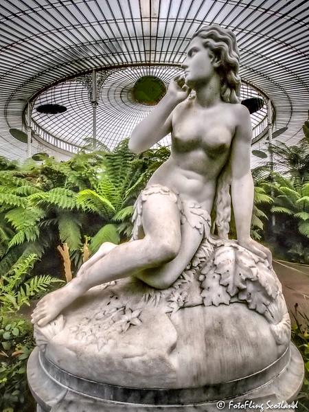 Eve by Scipione Tadolini, Kibble Palace