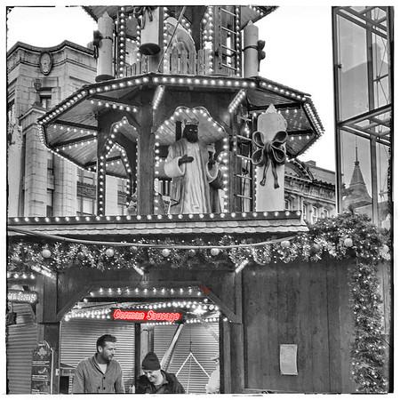 Glasgow's Christmas German Food Market