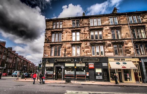 Tennent's Bar, Byres Road, Glasgow