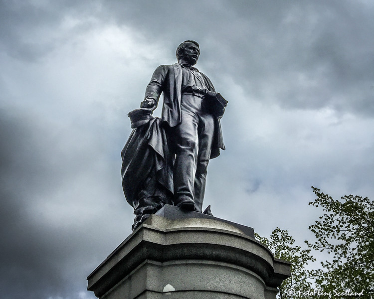 Statue of David Livingstone, Cathedral Square, Glasgow
