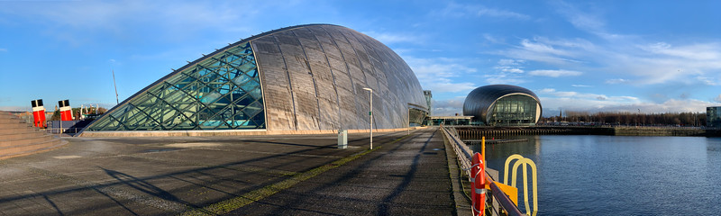 Science Centre & P S Waverley at Pacific Quay, Glasgow