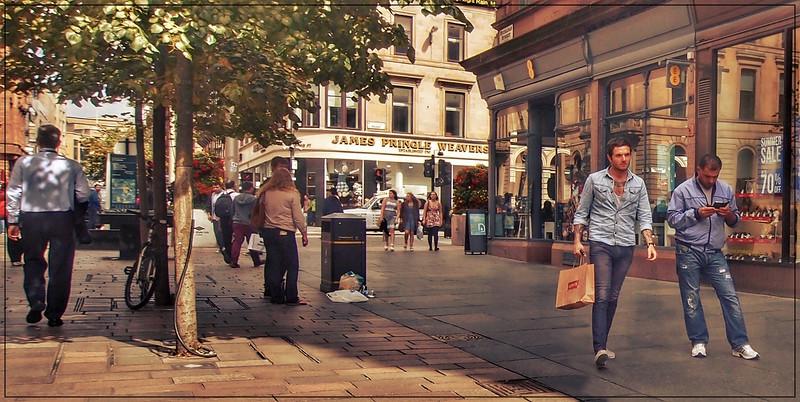 Glasgow Street Scene 2013
