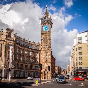 Tolbooth Steeple at Glasgow Cross