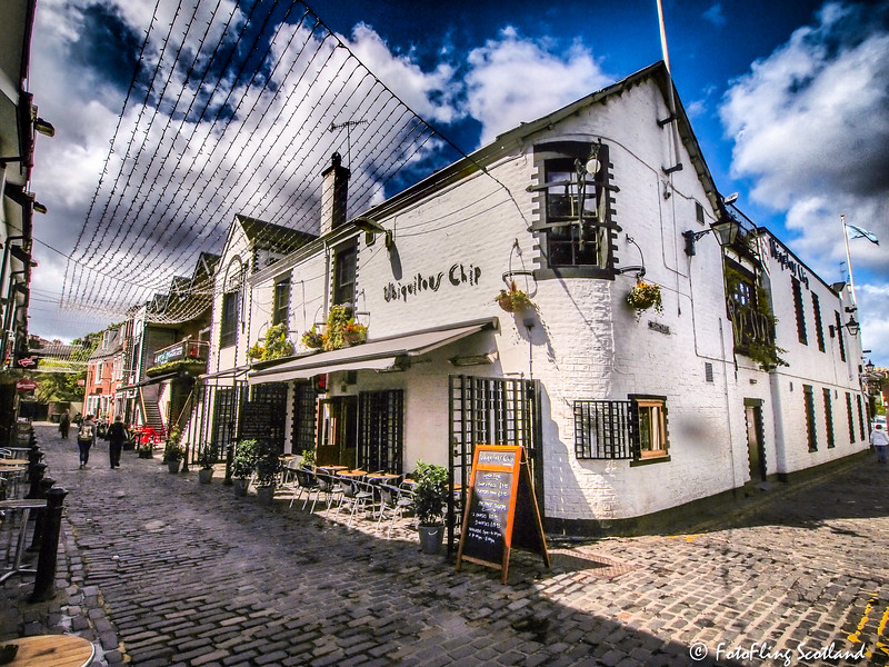 The Ubiquitous Chip, Ashton Lane, Glasgow