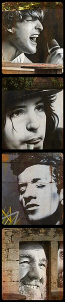 Clutha Bar Mural Extracts
