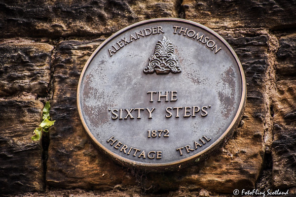 Plaque: The Sixty Steps