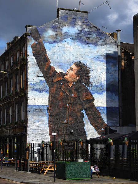Mural: Billy Connolly by Jack Vettriano