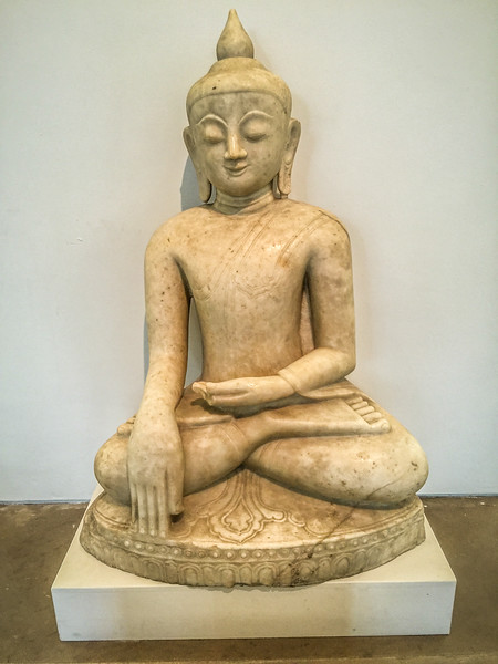Buddha (18th Century marble statue from Burmese Temple)