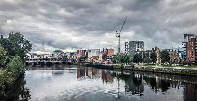 Glasgow Metropolitan Cathedral &  South Portland Street Suspension Bridge