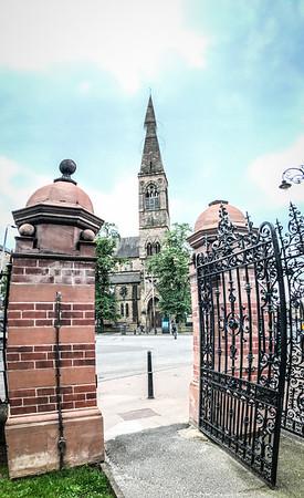 The Gates of  Glasgow Botanic Gardens