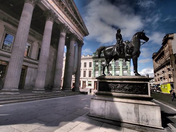 Equestrian Statue of Duke of Wellington, Glasgow