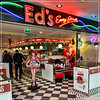 Jingle Buns at Ed's Easy Diner