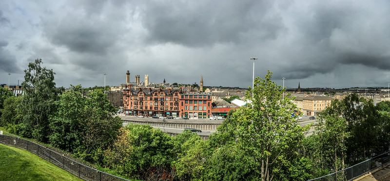 View from Hill Street, Garnethill, Glasgow
