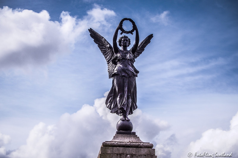 War Memorial - Victoria Park, Glasgow