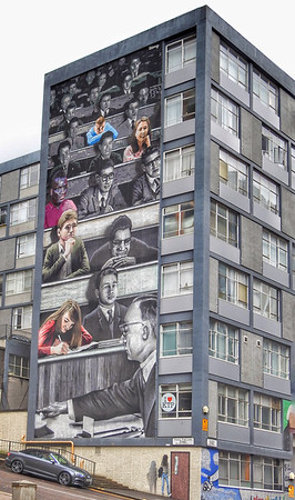 'Wonderwall' - a celebration of the people of University of Strathclyde and their many significant achievements