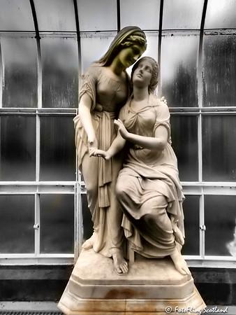 The Sisters of Bethany by John Warrington Wood (1871)