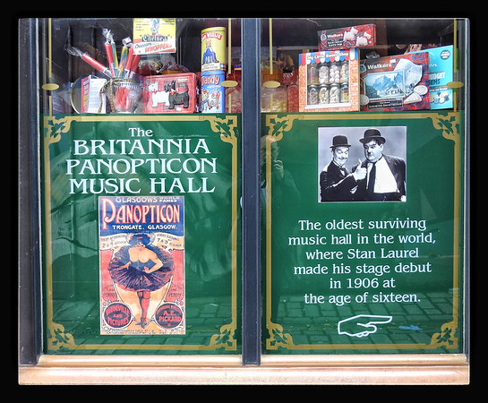 Window - The Britannia Panopticon Music Hall