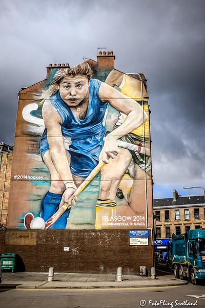 Commonwealth Games murals by Guido Van Helten