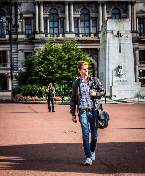 Ginger in Glasgow