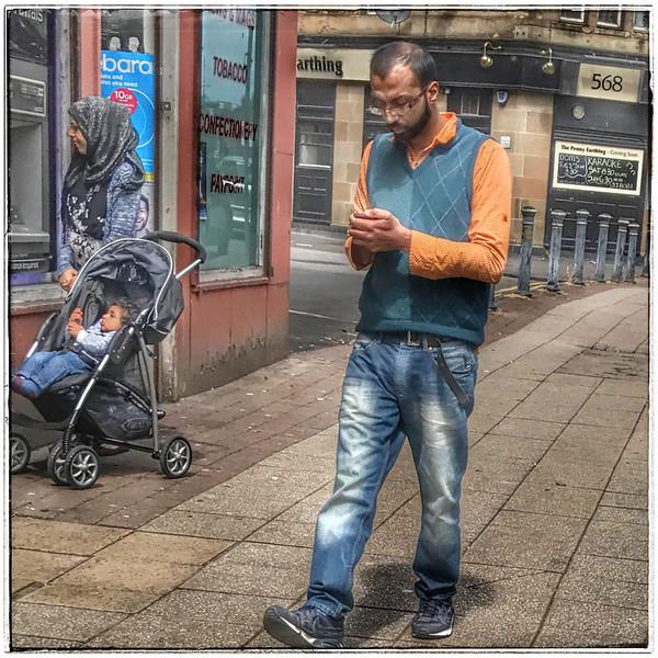 Streetlife in Govanhill, Glasgow