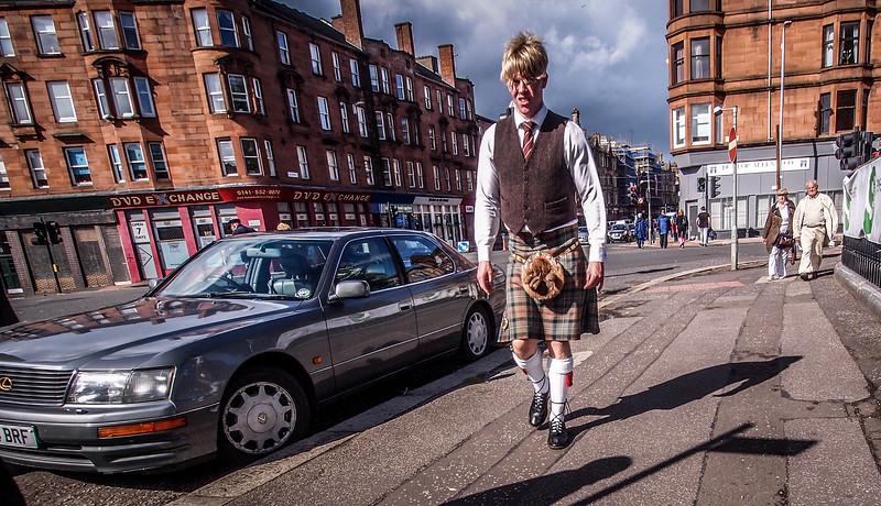 Kiltie Street Walker in Glasgow