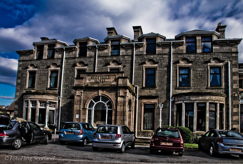 Stotfield Hotel, Lossiemouth My Grandparents were married here in 1908