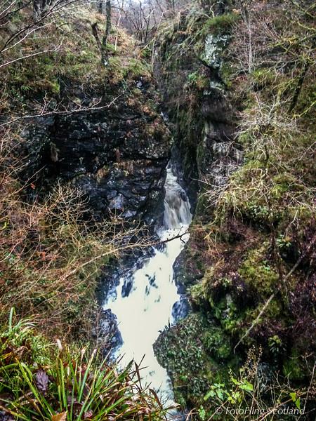 River Lednock, Monument Woodm Nr Comrie