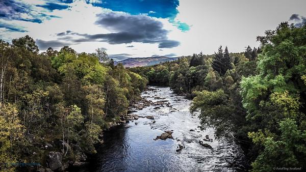 River Tummel from Tummel Bridge
