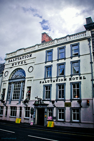 Saluation Hotel, Perth - the oldest hotel in Scotland (1699)