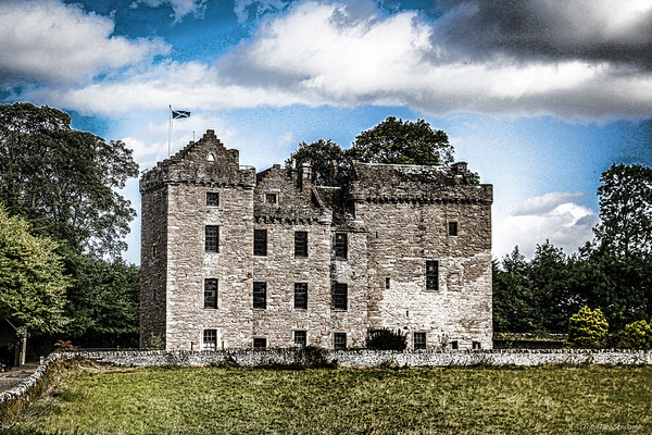 Huntingtower Castle, nr Perth