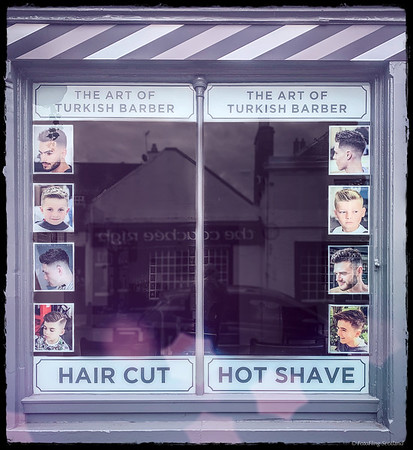 A Hot Shave in Peebles