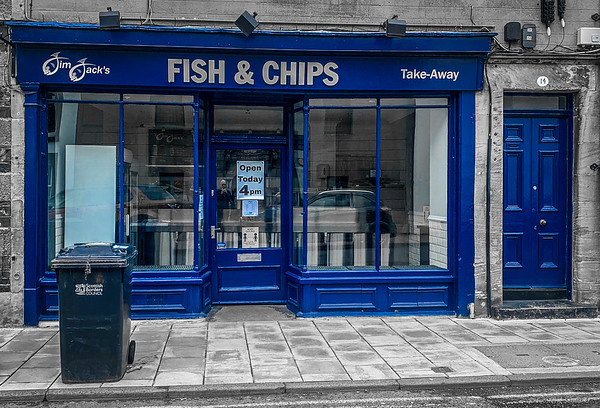 Fish & Chips in Peebles