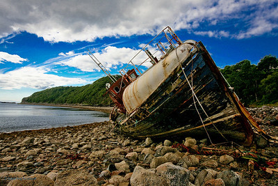 Wreck at Diabaig