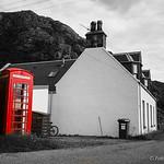 The Red Telephone Box -  Diabaig