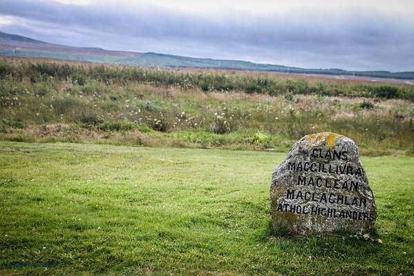 Memorial on Culloden Moor