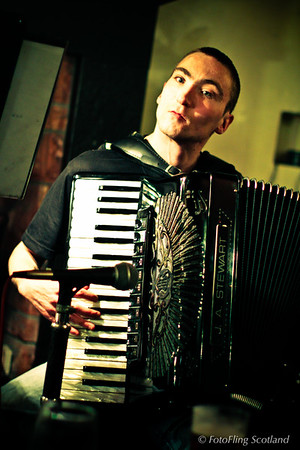 Brilliant Accordianist